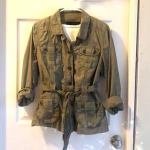 Army green cargo jacket - Calvin Klein
